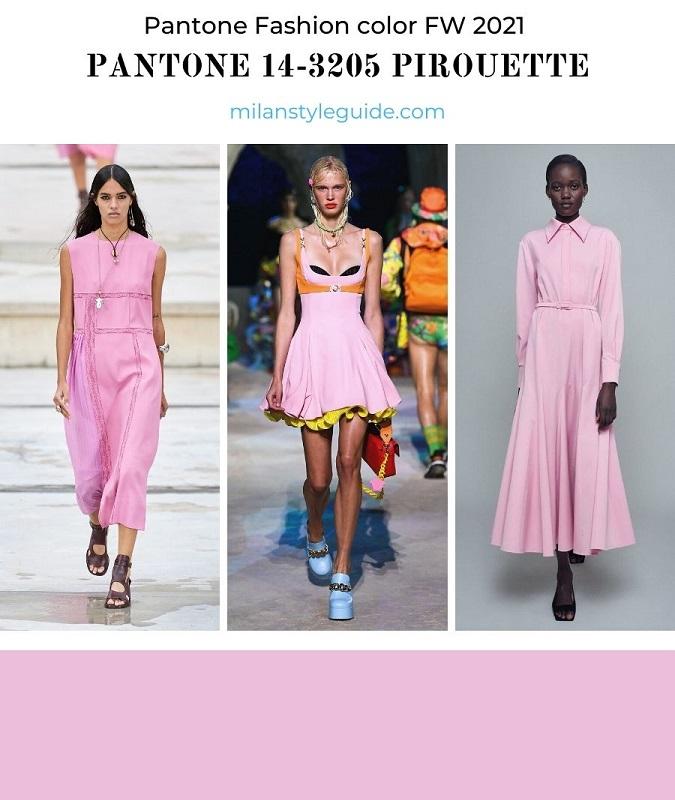PANTONE 14-3205 Pirouette - Балетная пудра