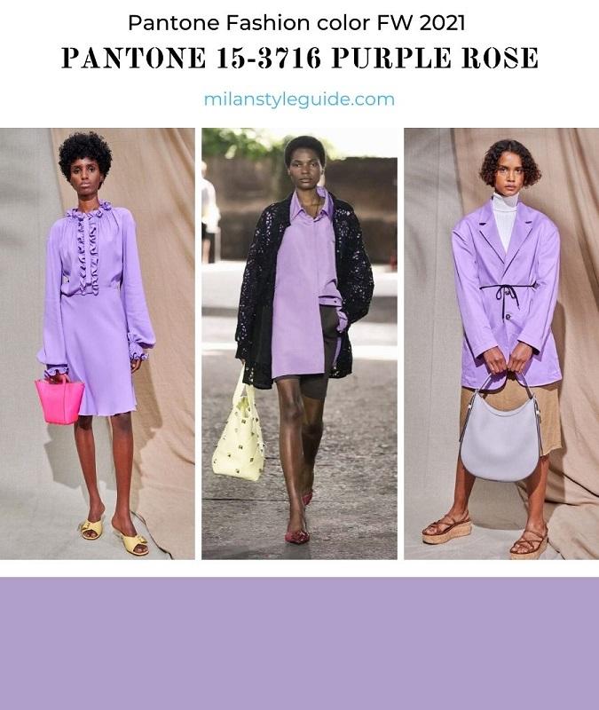 PANTONE 15-3716 Purple Rose