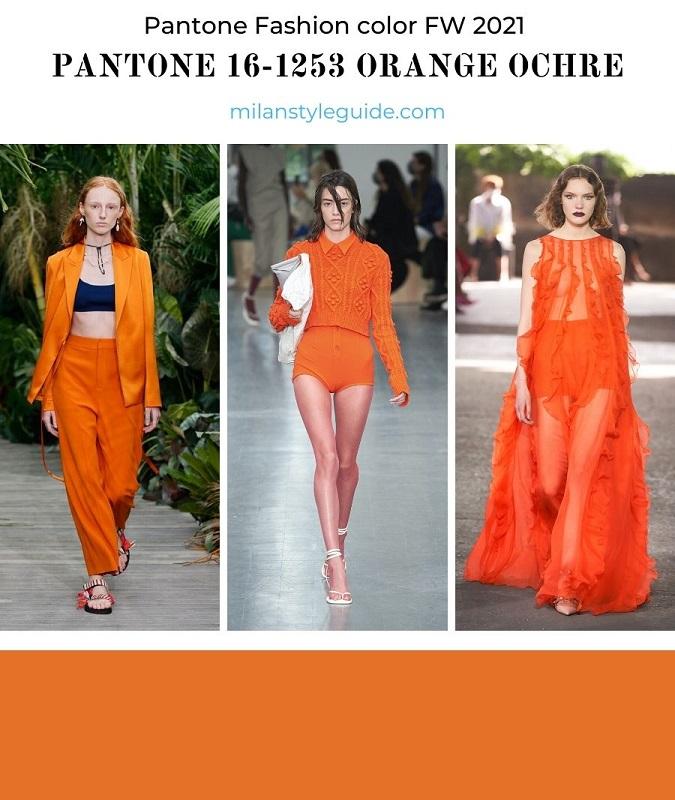 PANTONE 16-1253 Orange Ochre - Оранжевая охра