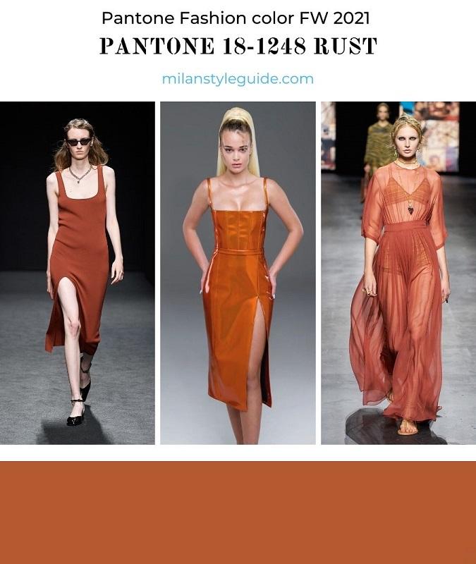 PANTONE 18-1248 Rust - Ржавчина