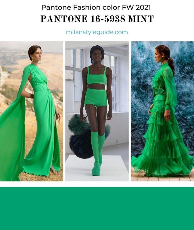 PANTONE 16-5938 Mint - Мята