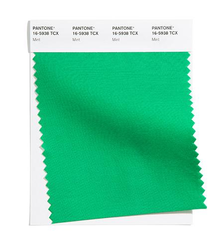 модные цвета пантон лето 2021 PANTONE 16-5938 Mint - Мята
