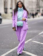 модный лиловый цвет весна лето 2021