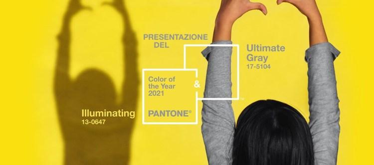 Цвет года Пантон 2021 Pantone Ultimate Gray and Illuminating