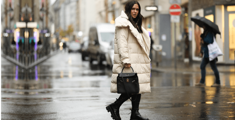 модный пуховик зима 2021 2020