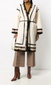 модная шуба халат зима 2020 2021