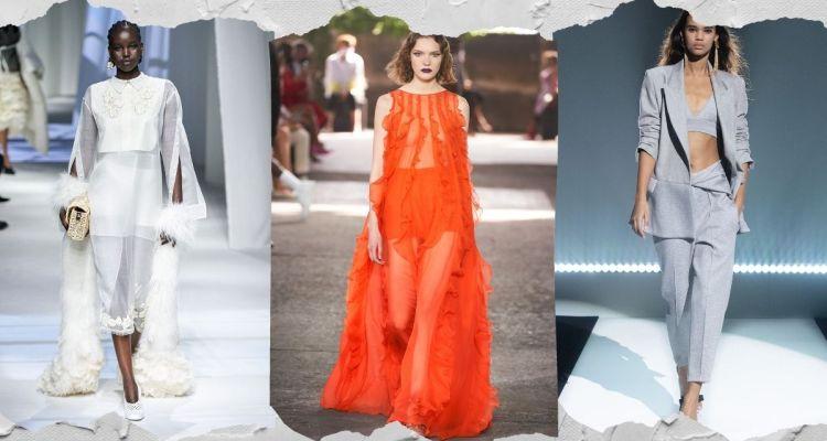 модные тенеднции женской одежы весна лето 2021