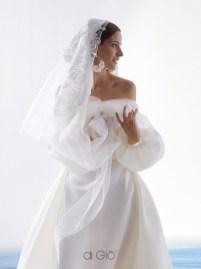 свадебные платья с обнажеными плечами модный тренд 2021