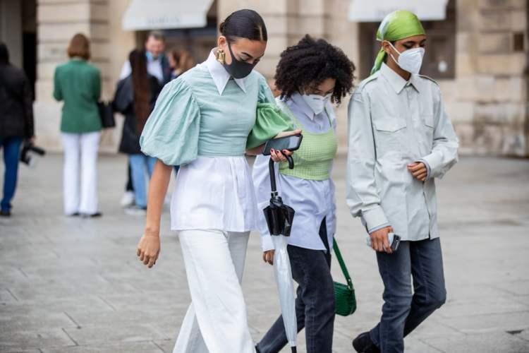 модные сумки 2021 street style spring 2021