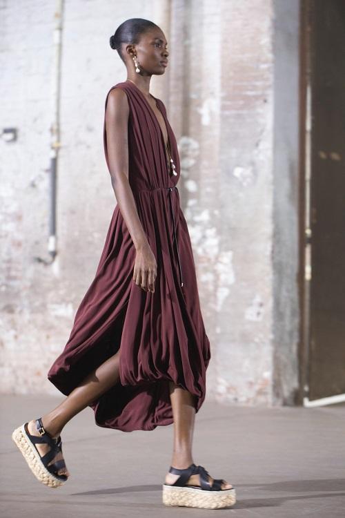 модная обувь весна лето 2021 тренд рафия