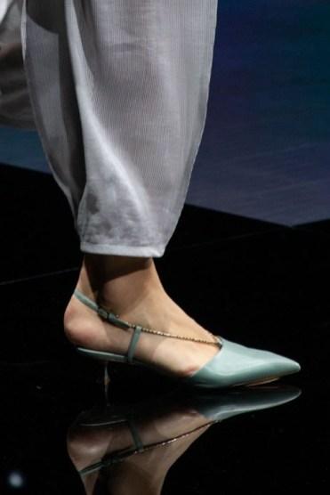 модная обувь весна лето осень 2021 тренд Slingbaks
