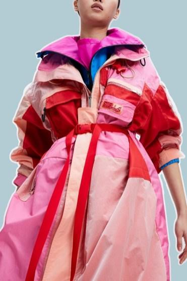 Модные пальто 2021 2022 тренд разноцветное пальто