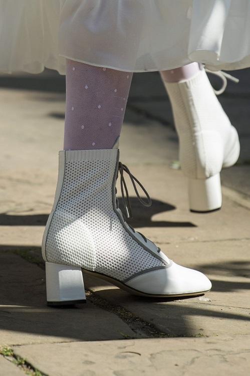 модные ботинки весна 2021 тренд сетка