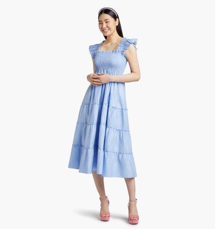 самые модные платья лето 2021 года - модные тренды платье-ночнушка