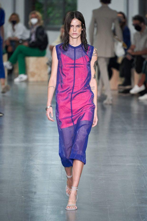 модные платья лето 2021 - тренд прозрачность