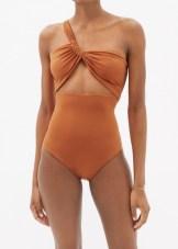 модный купальник SARA CRISTINA карамельного цвета