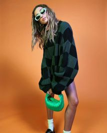 модные тенденции женской одежды осень зима 2021 2022 клетка шахматная доска