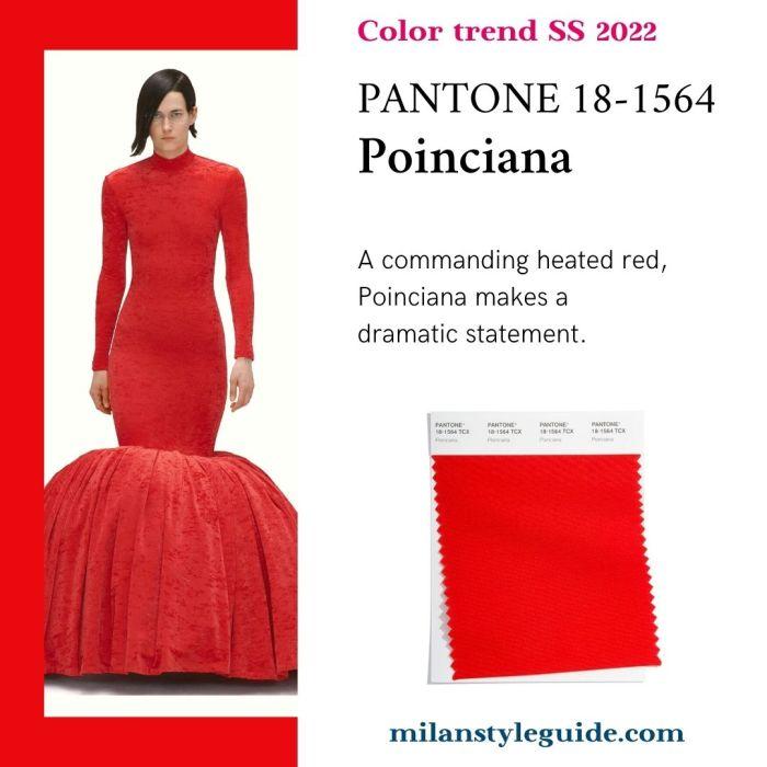 PANTONE 18-1564 Poinciana