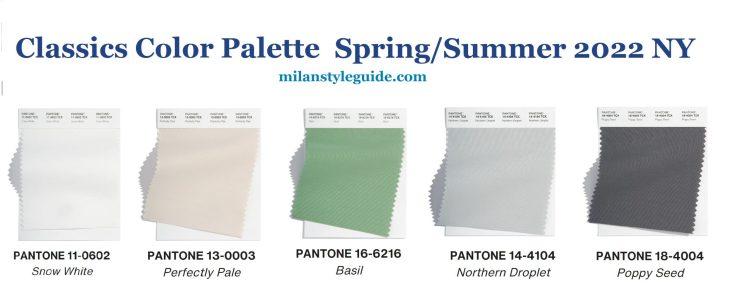 Главные модные тенденции осень-зима 2021/2022 нейтральная классическая палитра