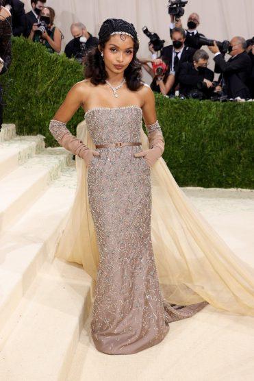 Yara Shahidi in Dior Met Gala 2021