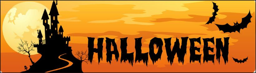 halloween banner ideas