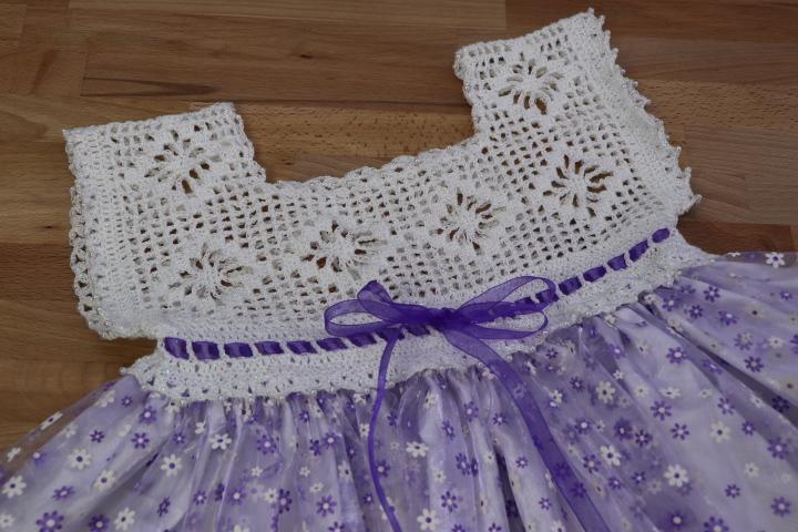 Patrón Blusa Corpiño Crochet para niña , 5 a 6 años | MilArt Marroquin