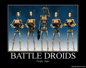 star_wars_the_clone_wars_b1_battle_droid_line_up_by_seekerarmada-d5gkxo1