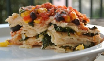 bean and spinach enchiladas crock pot