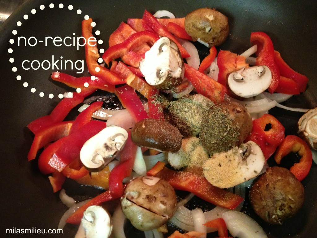 no-recipe cooking