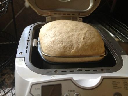 Rye bread in a bread machine