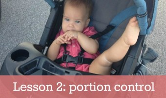 Healthy living school, lesson 2: portion control