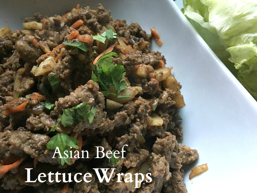 Easy Asian lettuce wraps with home-made sauce