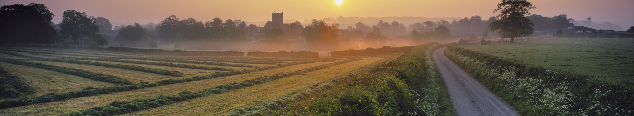 Milborne Port at dawn