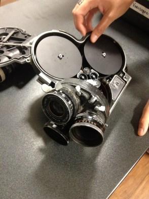 The 16mm-filmcamera