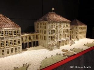 Nymphenburger Schloss aus Lebkuchen, Schrannenhalle in Muenchen