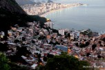 View from the top of Vidigal