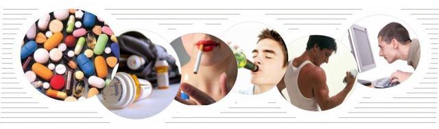 diferentes tipos de adicciones