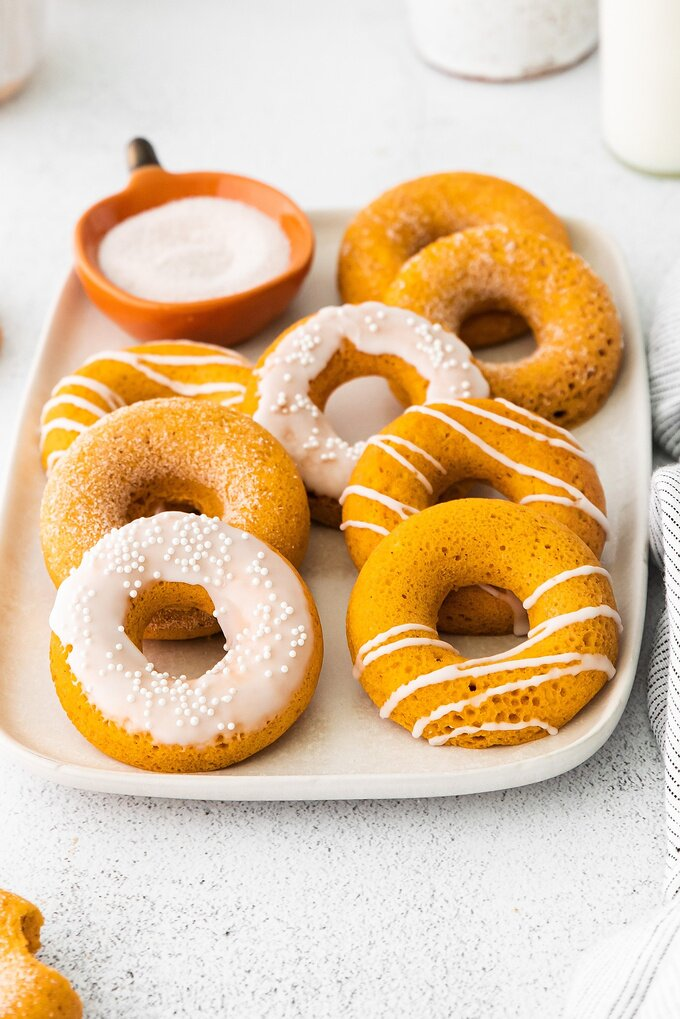 Baked Pumpkin Spice Donuts