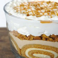 Pumpkin Roll Trifle