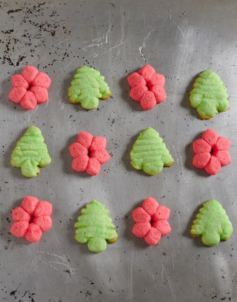 Butter Spritz Cookies