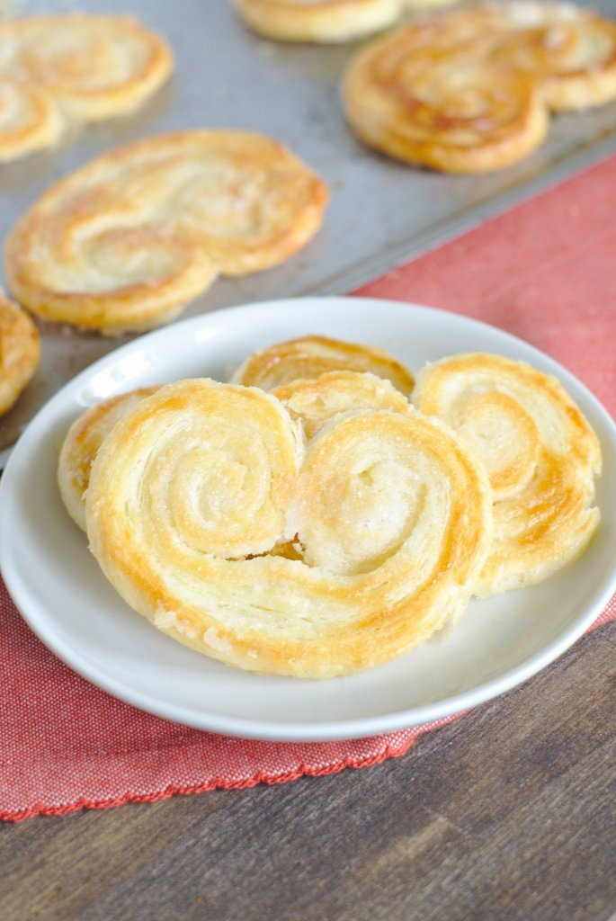 French Palmier Cookies