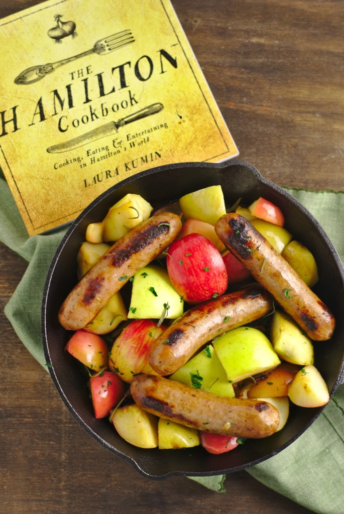 Baked Sausage and Apples