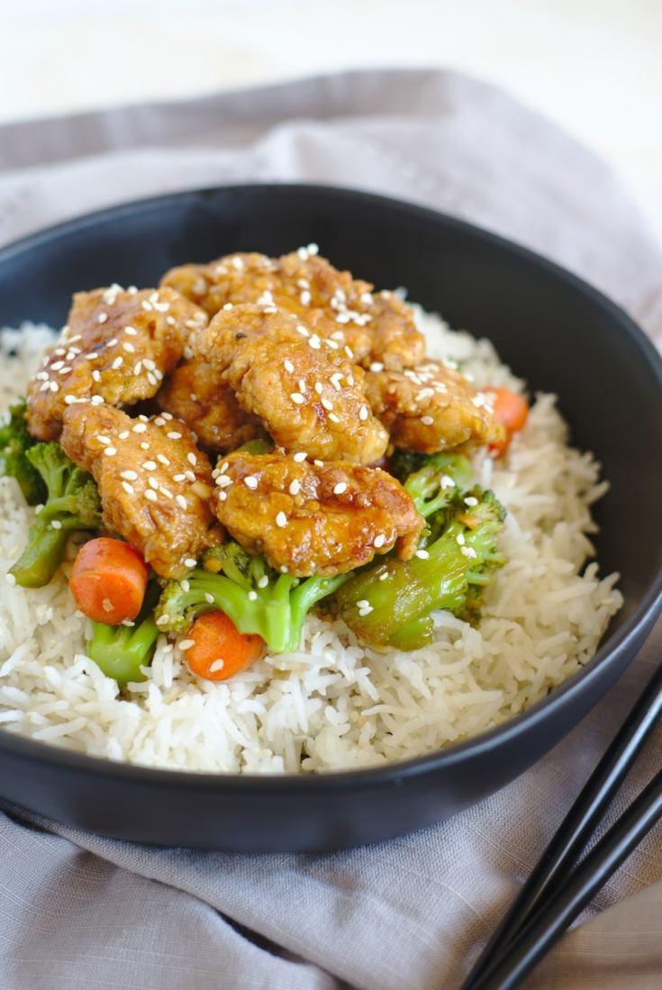 General Tso Chicken Stir Fry