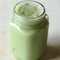 Iced Green Tea Latte (Starbucks Copycat)