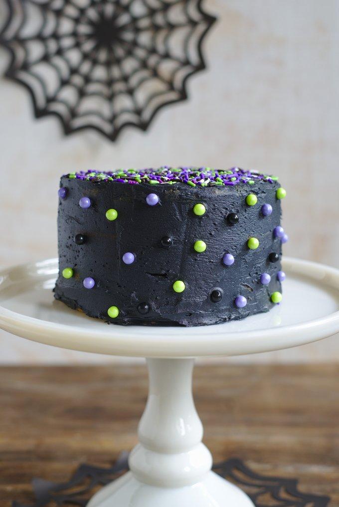Halloween Monster Mash Cake