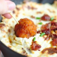 Baked Bleu Cheese Dip + Fall Entertaining Ideas with Tyson
