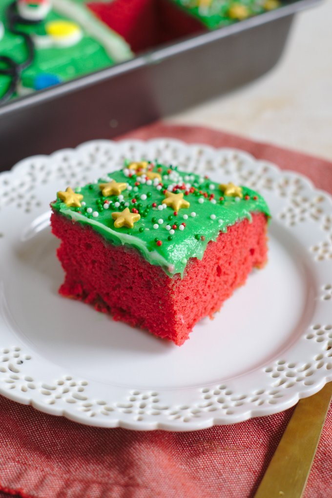 Christmas Ugly Sweater Cake