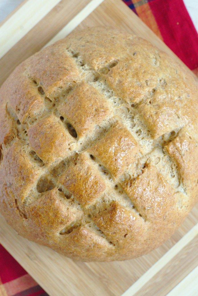Easy Rye Bread Recipe