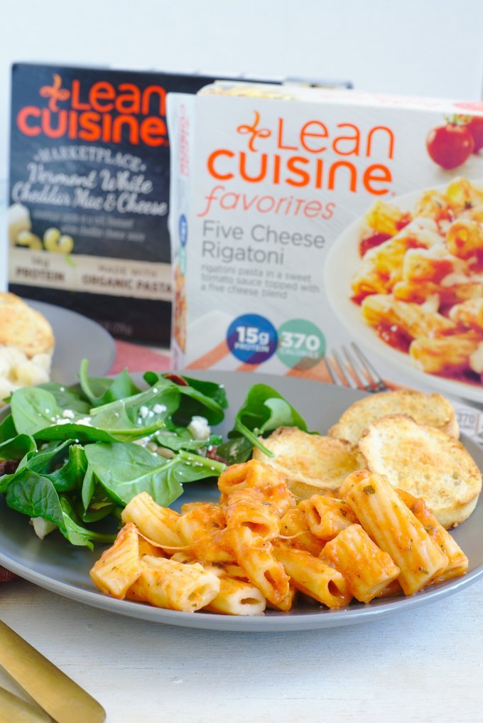 Making Dinner Easy with LEAN CUISINE® - A great dinner can be made easily with LEAN CUISINE and a few simple tips on quick and easy side dishes to pair with their frozen entrees!