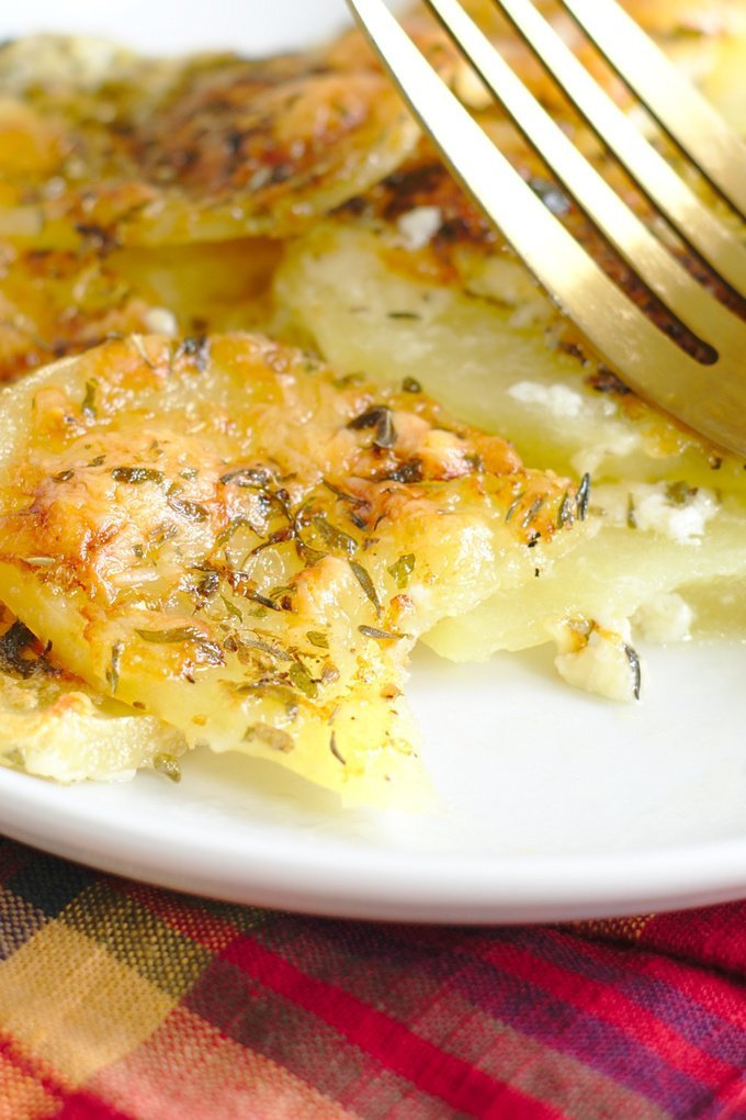 Easy Scalloped Potatoes Recipe